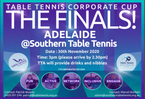 Corporate Cup Finals Adelaide
