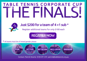 Corporate Cup Promotion